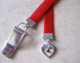 Crystal Charm Bookmarks