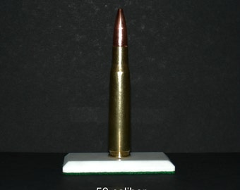 Handcrafted Bullet Paperweights, 50 caliber and others