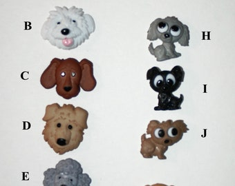 Fun Puppy / Dog stud style earrings