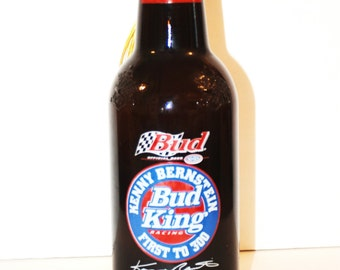 Kenny Bernstein 2000 NHRA season Budweiser Beer Bottle Lamp