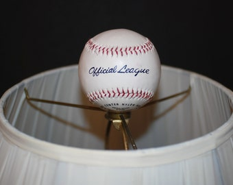 Real Baseball Lamp Shade Finial