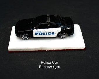 2006 Dodge Charger B&W Police Car decor