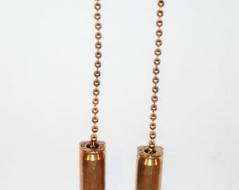 45 ACP Bullet ceiling fan/light chain pulls from Colt 1911A1