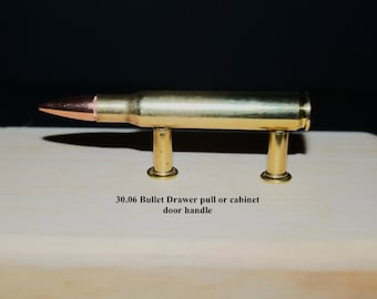 30.06 bullet drawer pulls or cabinet handles