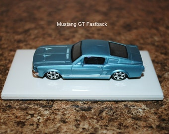 Mustang GT Fastback paper weight or desk/shelf display