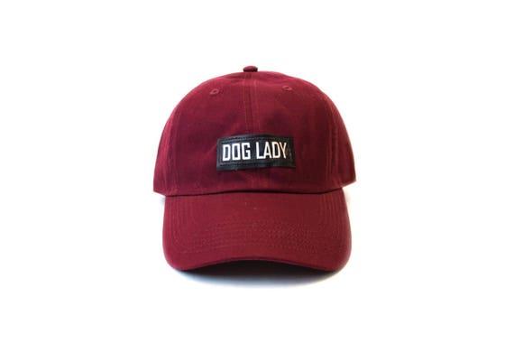 6c7335f6bac DOG LADY baseball cap