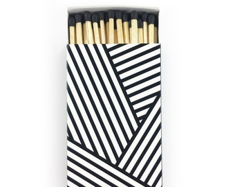 Large Matchbox - Stripes