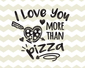 Love At First Bite Pizza Lover Italian Food Fun Quote Etsy