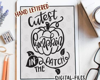 Cutest pumpkin in the patch, cute baby girl Halloween digital cut files, SVG, DXF, studio3 for cricut, silhouette cameo, diy vinyl decals