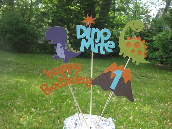 Dinosaur Table Centerpiece Birthday Decorations Boy
