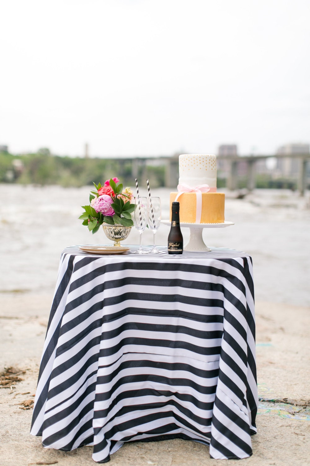 Amazing Black And White Striped Tablecloth Overlays 1 Inch Stripe Gatsby Glam Weddings Bridal Shower Dinner Party Black And White Stripe Home Interior And Landscaping Synyenasavecom