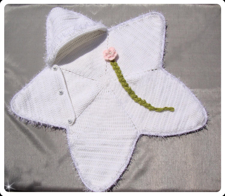 estrella de mar bebé manta manta de recién nacido ideas de | Etsy