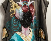 Space Geisha Up-cycled Ve...
