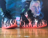 Flame Hand Painted Division (H&M) Shoes