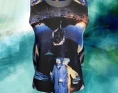 Time is Wonky in a Faberge Egg Loose Tank Top