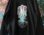 Celestial Mushroom Siblings Crewneck Sweatshirt