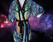 An Unusual Place Kimono Style Robe