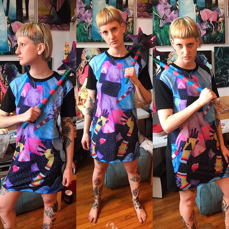 Blend In T-shirt Dress image 1