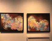 Clouds Diptych