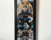 Time is Wonky in a Faberge Egg - Original Collage