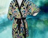 Where am I? Kimono Style Robe