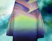 Sand Dooms Reflection Flare Skirt