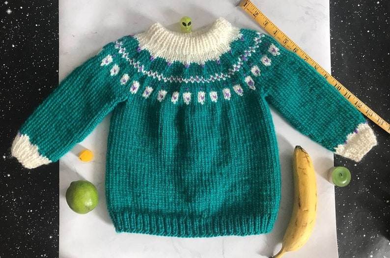 Toddler Knitted Sweater image 0