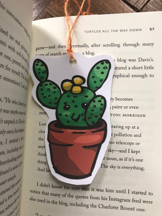 Cacti Bookmarks- 3 in a pack