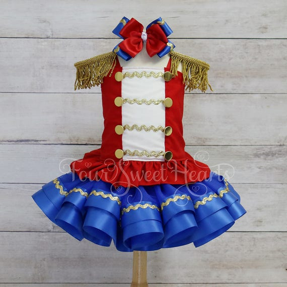Toy Soldier Dressgirl Nutcracker Costumegirl Toy Soldier Etsy