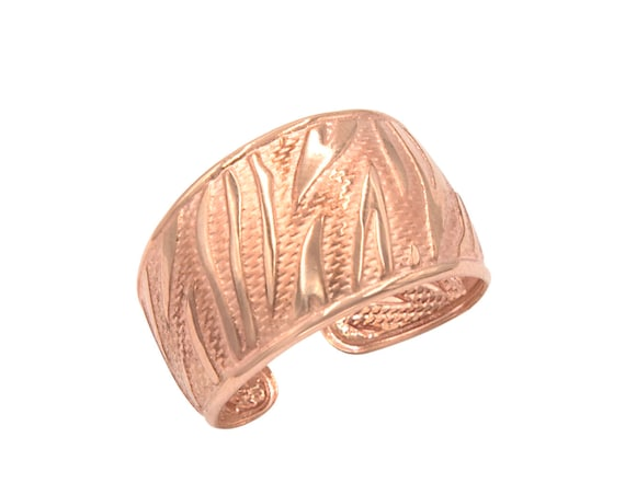 Gold Wide Ring, Gold Wide Band, Cuff Ring, Solid gold Open Ring, Gold Pinky Ring, Cigar Band Ring, Extra Wide Flat Ring, Textured Ring