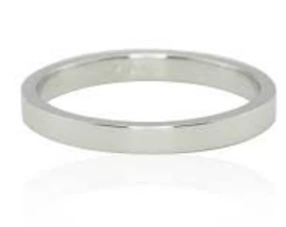 Wedding Band, Gold Wedding Band, Flat Gold Band, Wedding Band, Mens Wedding Band, 9 karats Band Ring, 3 mm Band Ring, Engraved Ring