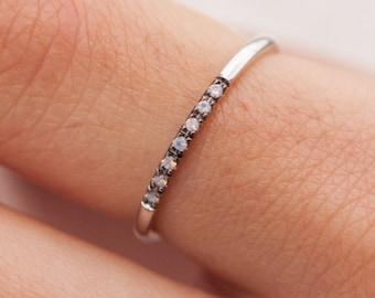 Opal Ring, Gold Opal Ring, Fire Opal Ring, Opal Band, Australian Opal Ring, Birthstone Ring, Opal Engagement Ring, Opal Wedding Ring,7 Opals