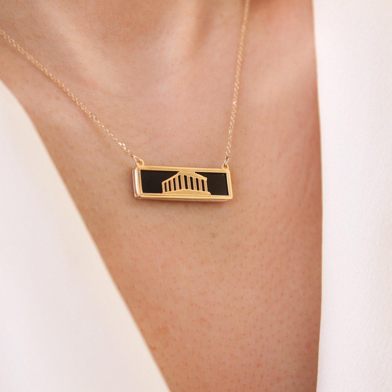 Ancient Greek Necklace, Ancient Greek Jewelry, Parthenon