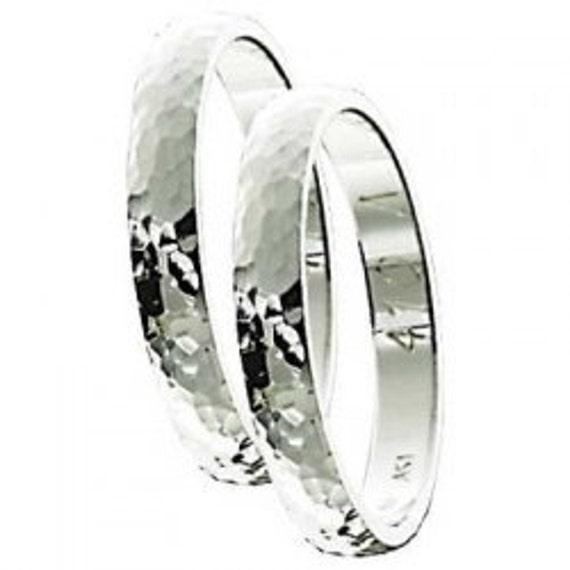 Gold Wedding Band, Hammered Gold Band, Wedding Band, Mens Wedding Band, 9 karats Band Ring, 3 mm Band Ring, Solid Gold Band, Hammered Ring