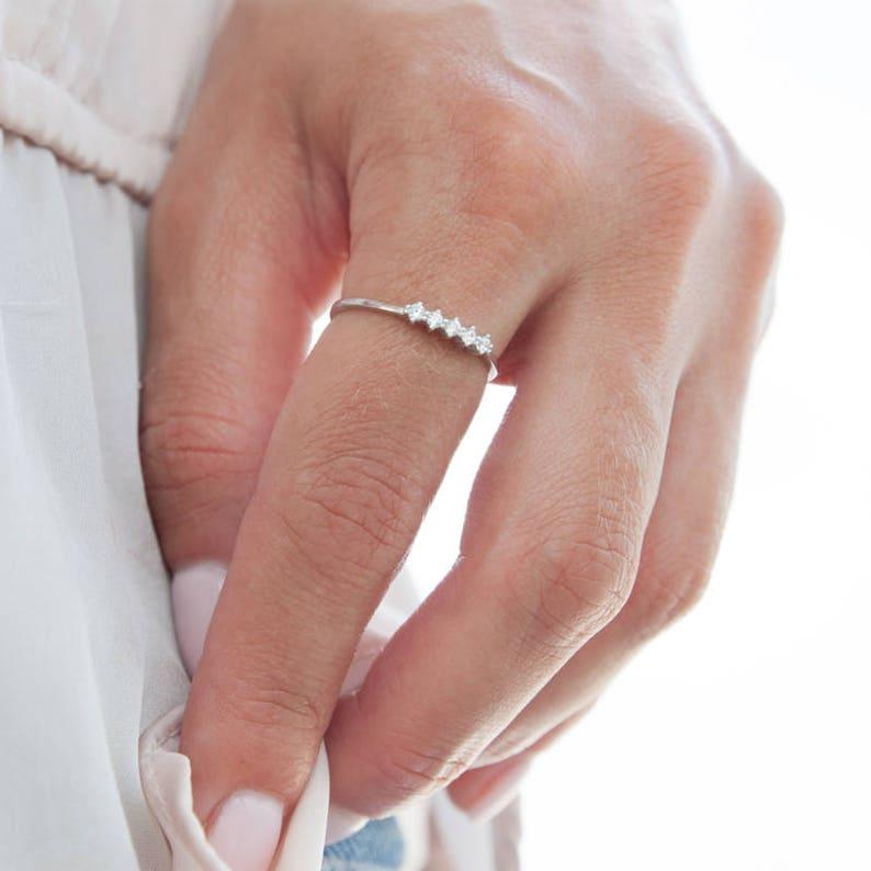 Diamonds Gold Ring Wedding Ring Engagement Ring Gold image 0