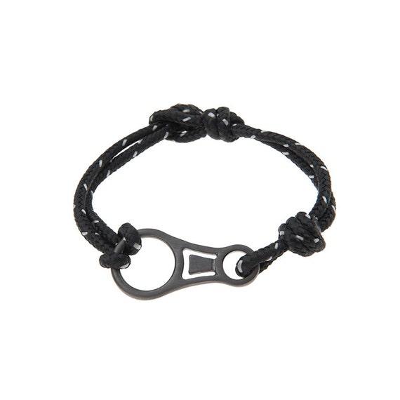 Climbing Bracelet, Mens Bracelet, Rope Bracelet, Silver Climbing Hook, Climbers Bracelet, Figure 8 Bracelet for Climbers, Climbing Jewelry