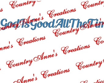 "SVG PNG DXF Eps Ai Wpc Cut file for Silhouette, Cricut, Pazzles, ScanNCUT - ""#godisgoodallthetime"" svg"