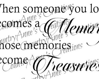 SVG PNG DXF Eps Ai Wpc Cut file for Silhouette, Cricut, Pazzles,  Memories become Treasures svg