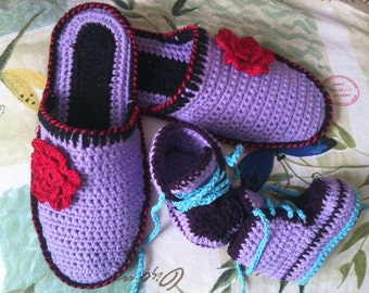 slippers, and booties