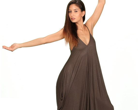 Cyber Monday Sale Anjali OnePiece Jumpsuit in Olive for Paramita Designs Womens Yoga Wear