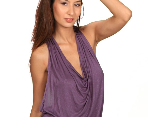 Evelina Jumpsuit Onesie in Dusty Lavender for Womens Fashion by Paramita Designs Resort Wear