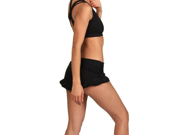 Shanti Strappy Criss Cross Back Yoga Bra Tank