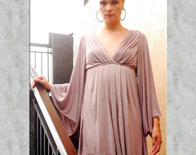 Bell Sleeve Goddess Dress for Womens Fashion Boho Chic Festival Wear Party Dress Wholesale