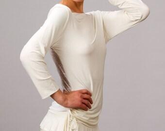 Ruffle Mini Skirt In White for Womens Boho Chic Summer Fashion Festival Wear Gift for Her Wholesale