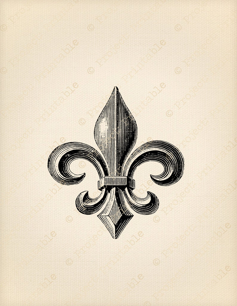 graphic about Fleur De Lis Printable known as Classic FLEUR DE LIS Cloth Shift - Immediate Obtain - Printable Electronic Graphics - clipart picture - iron upon pillows cushions