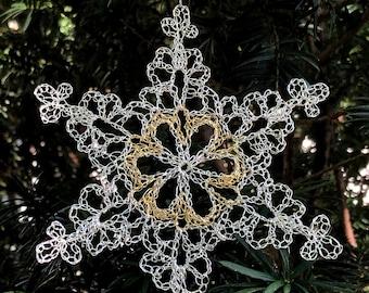 10th Anniversary Silver & Gold Snowflake 2021