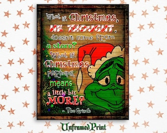 The Grinch Christmas Decorations Etsy