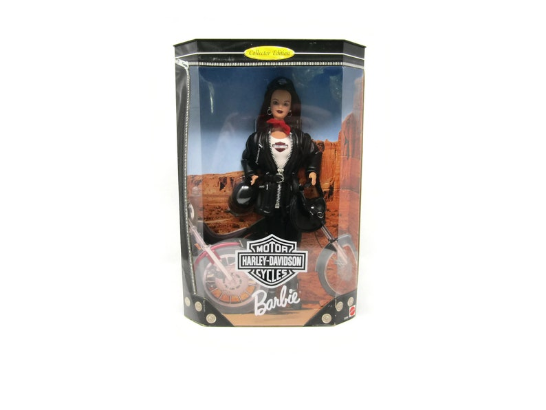 Sonstige Harley Davidson Barbie Doll 3Rd In Series Collector Edition 1998