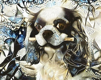 Cavalier Spaniel, King Charles Spaniel, Spaniel Print, Spaniel Gift, Dog Art Prints, Dog Lover Gift, King Charles Dog