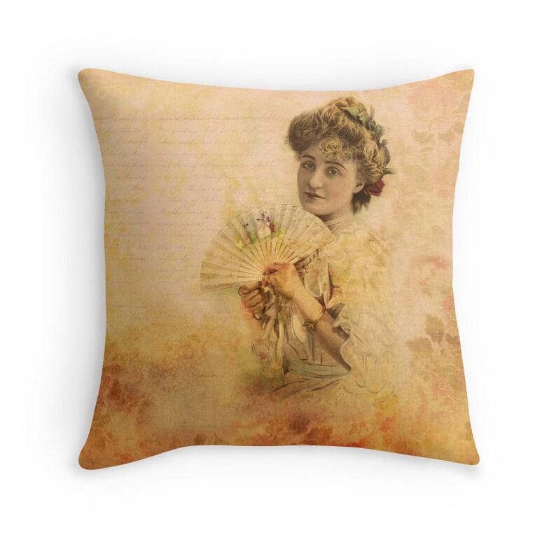 Boho Decor Boho Pillow Victorian Cushion Victorian Pillow image 0